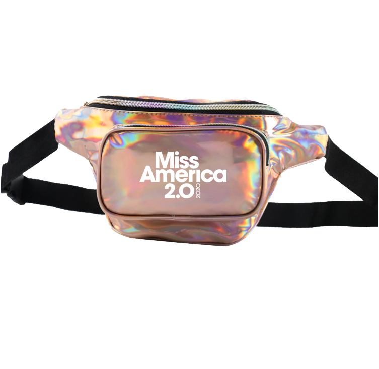 MA2020 Gold Holographic Fanny Pack