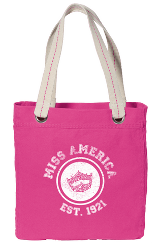 Crown Circle Premium Pink Tote