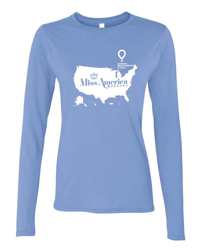 Miss America Serves 2017 Ladies Longsleeve