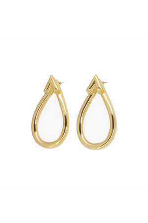 CXC 0044ORO Earrings-Jewelry-CXC-Madison San Diego