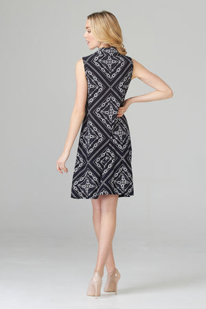 Joseph Ribkoff Naval Print Dress