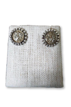 Gray VSA Designs Heartburst Stud Earrings