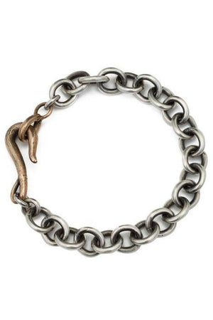Gray Signature Sterling Chain Layering Bracelet by Shannon Koszyk