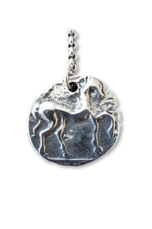 CXC N0034 Equestrian Necklace in Silver-Jewelry-CXC-Madison San Diego