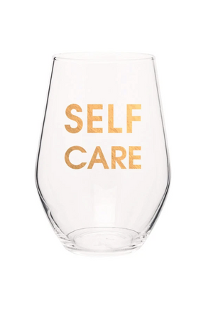 Light Salmon Chez Gagne Self Care Wine Glass