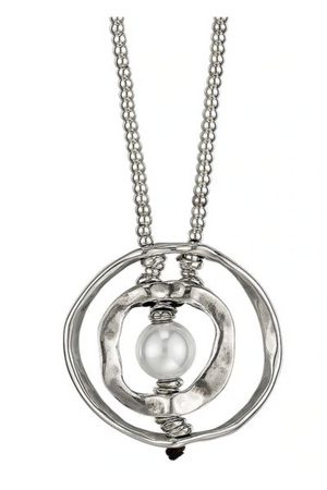 Uno de 50 Pearl of Wisdom Necklace-Jewelry-UNOde50-Madison San Diego