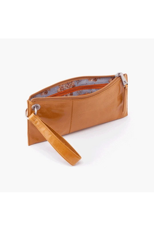 Hobo Vida Wristlet Clutch Honey