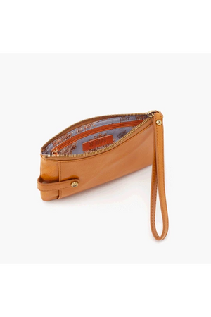 Hobo King Wristlet Wallet Honey