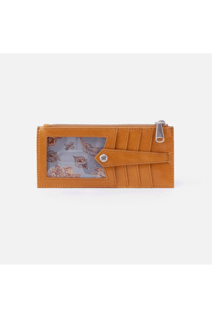 Hobo Linn Wallet Card Holder Honey
