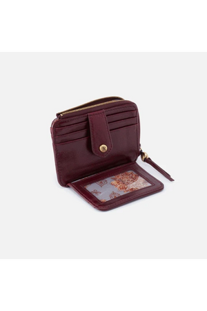 Hobo Poco Wallet Card Holder Deep Plum