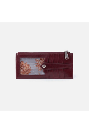Hobo Linn Wallet Card Holder Deep Plum
