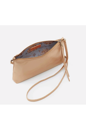 Hobo Darcy Crossbody Wristlet Gold Dust