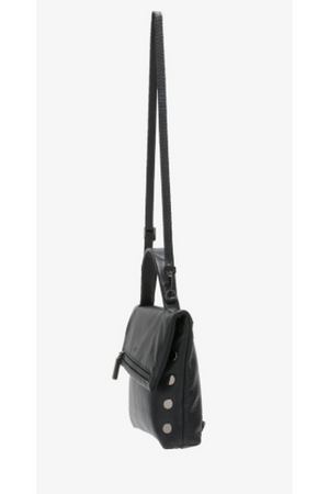 Hammitt VIP Convertible Backpack in Black with Gunmetal-Handbag-Hammitt-Madison San Diego