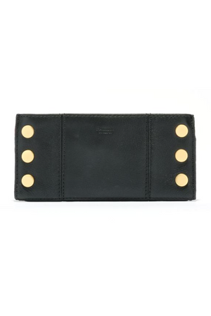Hammitt 110 North Black/Brushed Gold Wallet-Handbag-Hammitt-Madison San Diego