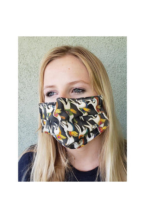 Horse Theme Face Mask + Pegasus-Health & Wellness-Three Wild Horses-Madison San Diego