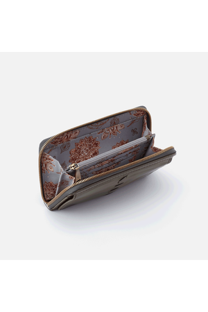 Hobo Elm Wallet Card Holder Mistletoe