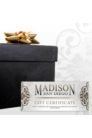 Gift Card-Gift Card-Madison San Diego-$10.00 USD-Madison San Diego