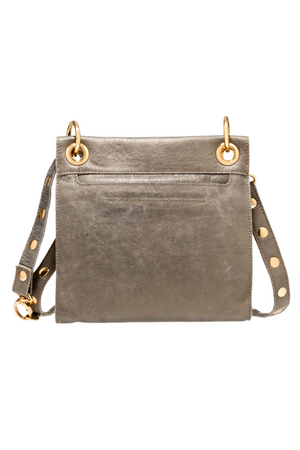 Hammitt Paul Pewter/Gold cross-body