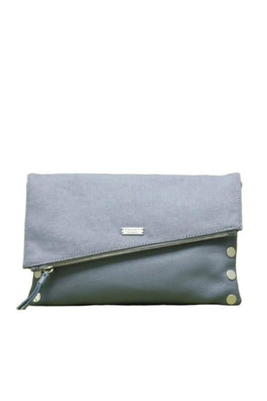 Hammitt Medium Lake/Brushed Silver Dillon Handbag