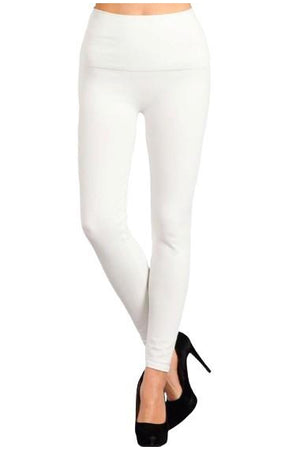 Stretch Denim Jegging / Legging White