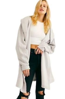 Free People Willow Oversized Cardigan Heather Grey