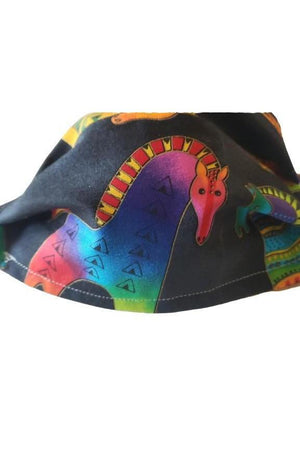 Horse Theme Face Mask + Colorful-Health & Wellness-Three Wild Horses-Madison San Diego