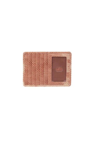 Hobo Euro Slide Wallet Card Holder Desert Tie Dye