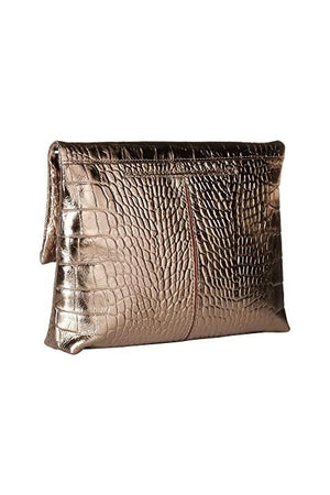 Hammitt Small VIP Clutch in Anchor with Brushed Silver