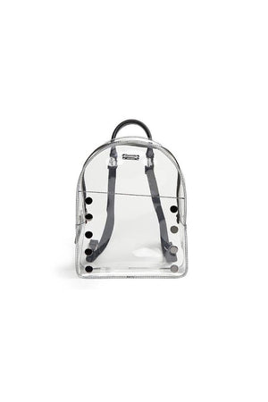 Hammitt Shane Medium Clear with Gunmetal Backpack