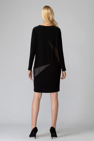 Joseph Ribkoff Black Tunic Dress
