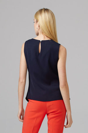 Joseph Ribkoff Midnight Blue Blouse