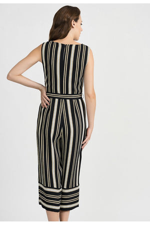 Joseph Ribkoff Multi-Striped Jumpsuit