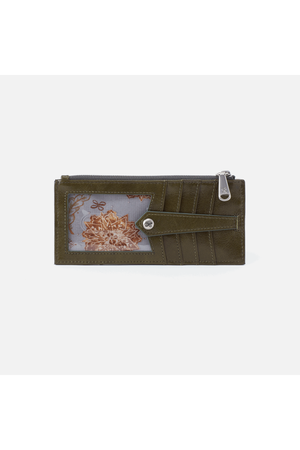 Hobo Linn Wallet Card Holder Mistletoe