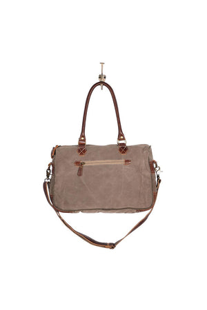 Exquisite Canvas Laptop/Messenger Bag-Bags-Myra Bag-Madison San Diego