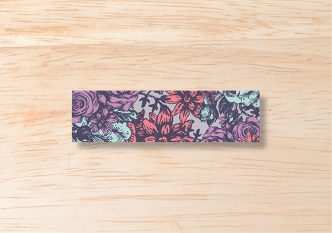 Floral Belly Band - BlushWeddingsUK