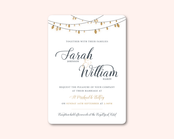Glow Day Invitation - BlushWeddingsUK - 2