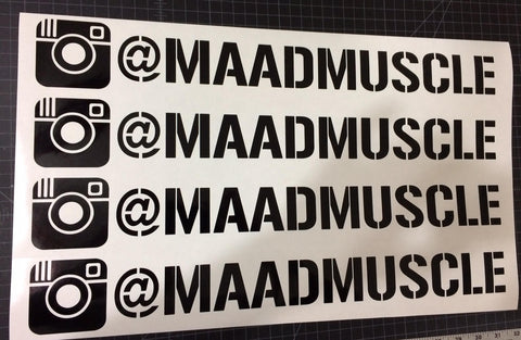 Vinyl Decal (Medium)