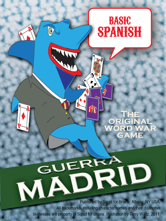 Guerra: Battle for Madrid (Basic Spanish words and phrases)