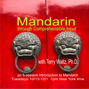 CI Mandarin Chinese (Adults) with Terry Waltz: Module 1