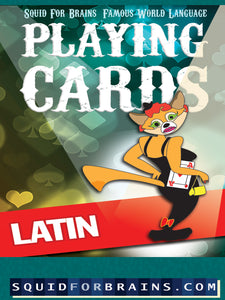 YouPrint: Playing Cards: Latin