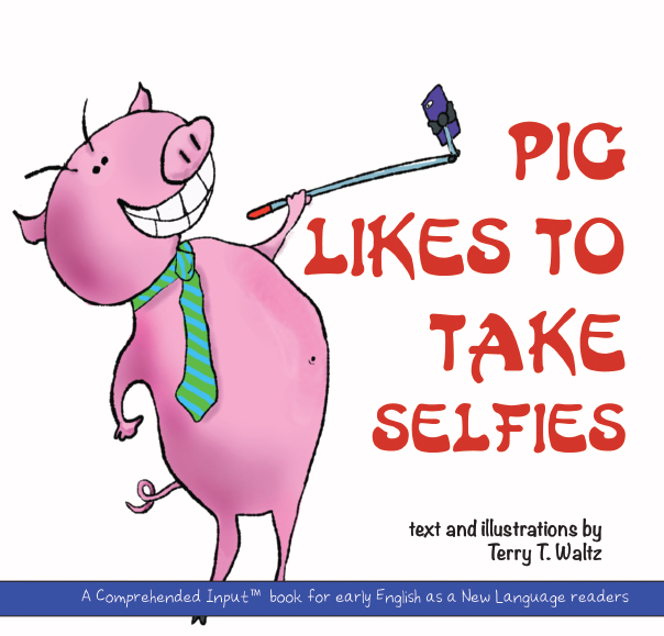 Pig Likes to Take Selfies