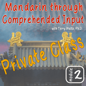 Private CI Mandarin Chinese with Terry Waltz: Module 2