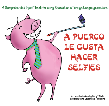 A Puerco le gusta hacer selfies!