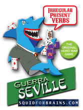 Load image into Gallery viewer, Guerra: Siege of Seville (Focus on irregular present tense verbs)