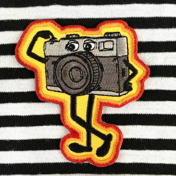 that camera man patch