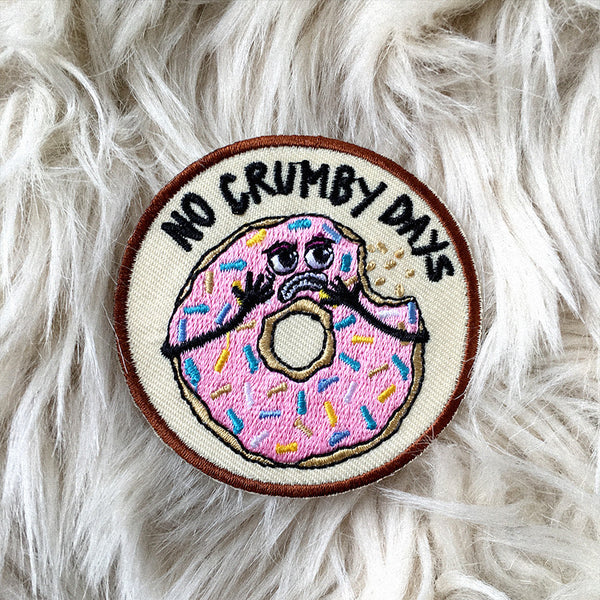 no crumby days donut patch