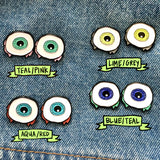 slimeball eyeballs pin set
