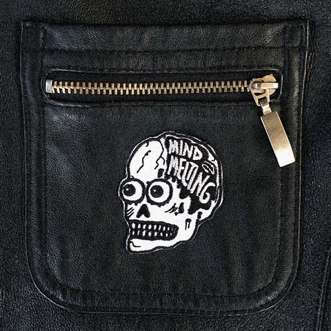mind melting skull patch