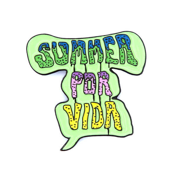 summer por vida logo pin
