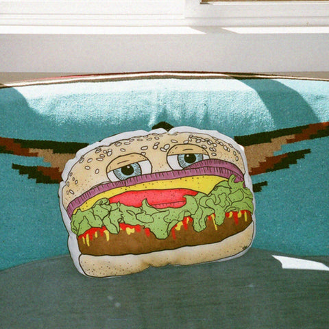 big burger pillow